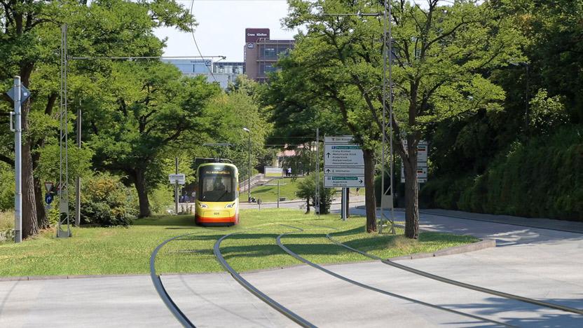 Innenstadt Strecke Stadtbahn