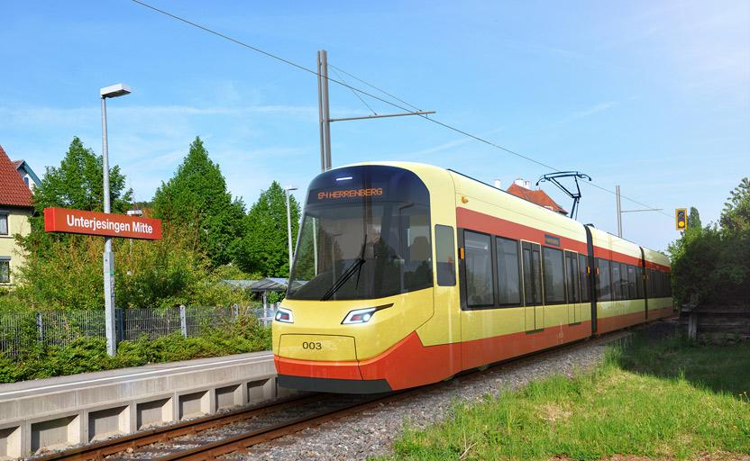 Projekt Regiostadtbahn Neckar Alb